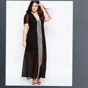 ASOS CURVE Exclusive Maxi Dress